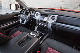 toyota tundra trd pro interior 2015 toyota tundra trd pro review test motor trend