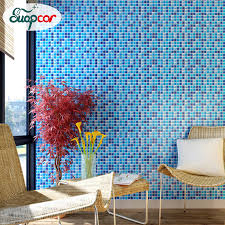 online get cheap vinyl wallpaper adhesive mosaic aliexpress com