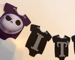 nightmare before christmas baby shower it s a boy baby shower banner nightmare before