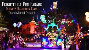 frightfully fun parade mickey u0027s halloween party disneyland