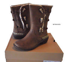 ugg womens kona boots ugg australia leather elastic shoes for ebay