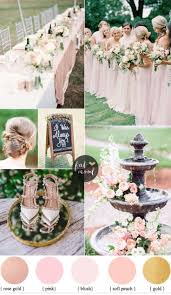 wedding colors best 25 blush wedding colors ideas on blush wedding