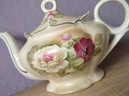 lefton china teapot roses vintage lefton china green heritage musical teapot tea for two