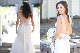 wedding dress sheer straps v back wedding dress with sheer straps