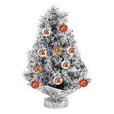usc trojans 11 pc tabletop tinsel tree and