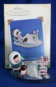 1990 hallmark keepsake miniature frosty friend wreath ornament 5