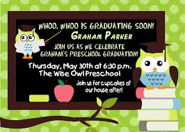preschool graduation invitations marialonghi com