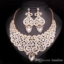 earring necklace sets wedding images 2018 fashion indian bridal jewelry sets wedding necklace earring jpg