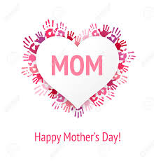 to the best mom happy mother s day card birthday happy mothers day greeting card or background mom on white heart