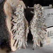 angel wings antique vintage style wings cowshed interiors