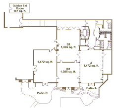 floor plans for floor plans for banquet and meeting facilities the lodge at