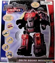 bandai power rangers spd delta squad megazord 2004 ebay
