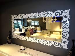 wohnzimmer spiegel faszinierende auf ideen oder 3er set