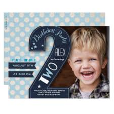 boy second birthday invitations u0026 announcements zazzle