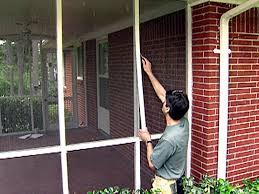 screen a porch video diy