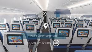 Klm Economy Comfort Klm U0027s Boeing 787 Dreamliner Virtual Reality Tour Klm Blog