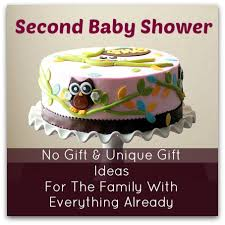 Unique Gift Ideas For Baby Shower - 9 no gift second baby shower ideas