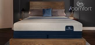 Serta Icomfort Bed Frame Serta Icomfort Foam Mattress Collection Sleep City