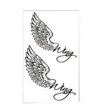 buy set of 2 simple wings totem stickers