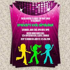 dance party invitations u2013 gangcraft net