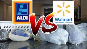 thanksgiving haul walmart vs aldi thanksgiving food deals