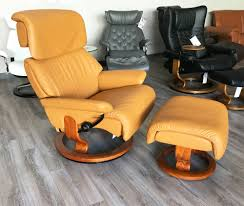 leather recliner chairs stressless spirit large dream cori tan leather recliner chair and