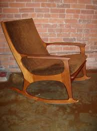 Rocking Chair Teak Wood Rocking The Fabulous Find Mid Century Modern Furniture Showroom In