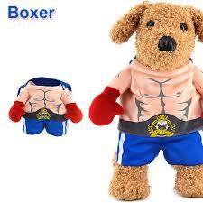 Halloween Costumes Boxer Dogs Aliexpress Buy Funny Halloween Pet Cat Dog Boxer Standing