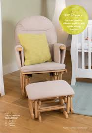Gliding Chairs Little House Glider Chair With Footstool Samuel Johnston Com