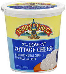How Many Calories Cottage Cheese by Land O Lakes Cottage Cheese 2 Lowfat Small Curd 22 0 Oz