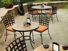 Folding Patio Furniture Set by Patio Metal Outdoor Patio Furniture Sets Wrought Iron Outdoor