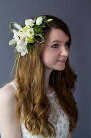 bridal flowers for hair how to make a floral hair comb hitched co uk