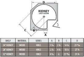 how to measure corner cabinets kidney shaped lazy susan installation information