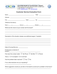 employee review form free download bankruptcy specialist sample