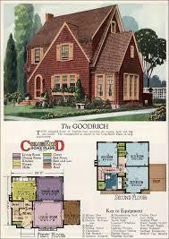 house plans magazine 1927 goodrich revival cottage william a radford