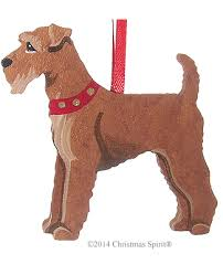 terrier ornament terrier ornament