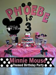 minnie mouse theme party minnie mouse party theme xiomi s 3rd b day