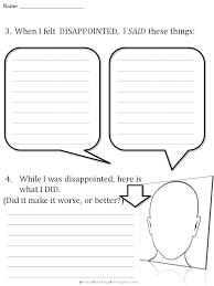 cbt children u0027s emotion worksheet series 7 worksheets for dealing