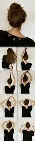 How To Make Easy Hairstyles At Home by Super Easy Knotted Bun Updo And Simple Bun Hairstyle Tutorials