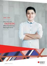 rmit bachelor fashion merchandising management 2015 by rmit
