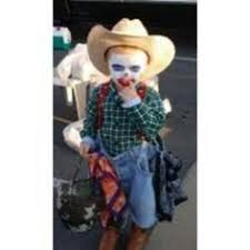 Doc Holliday Halloween Costume Rodeo Clown Halloween Costume Halloween Clown
