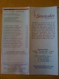 what does the word cuisine sawasdee cuisine menu menu for sawasdee cuisine ventura