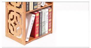 Sapiens Bookshelf Bamboo Bookcase Furniture Sapiens Bookcase With 3 Shelves Ladder