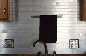 elegant brushed aluminum backsplash for your kitchen aluminum