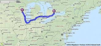 canadian mapquest driving directions from pickett wisconsin to toronto canada