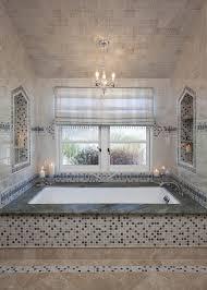 Bathroom Window Trim Whisper Green Mosaic Blend Bathroom Traditional With White Window
