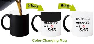 Color Changing Mugs Amazon Com Color Changing Mugs World U0027s Best Husband And Dad
