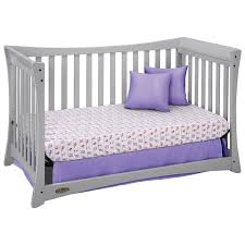 Graco Convertible Crib Bed Rail by Graco Tatum 4 In 1 Convertible Crib Pebble Grey Baby Cribs