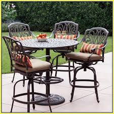 high top patio table and chairs patio high top table home site