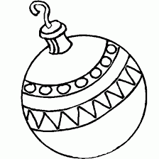 coloring christmas tree ball christmas coloring print